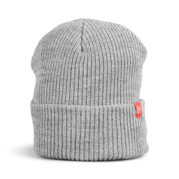 eS Block Beanie Hat – Grey / Heather