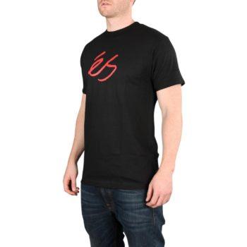 eS Script Mid S/S T-Shirt – Black