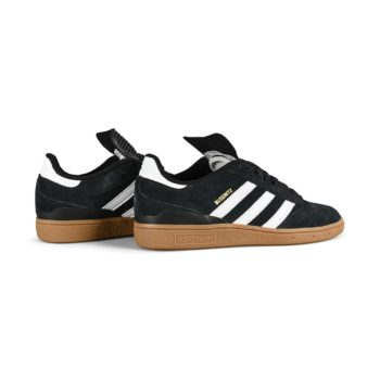 Adidas Busenitz Shoes - Core Black / Run White / Metallic Gold