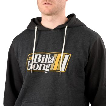Billabong Super 8 Pullover Hoodie – Black