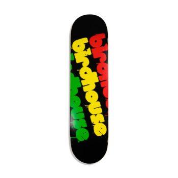 Birdhouse Triple Stack Logo 8″ Skateboard Deck – Rasta