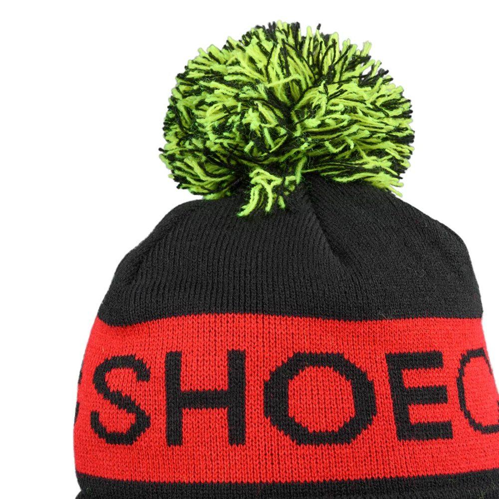 DC Shoes Chester Pom Beanie – Black