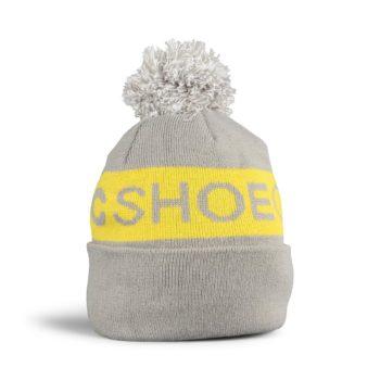 DC Shoes Chester Pom Beanie – Neutral Grey