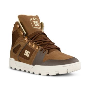 DC Shoes Pure High Top WR Boot – Brown