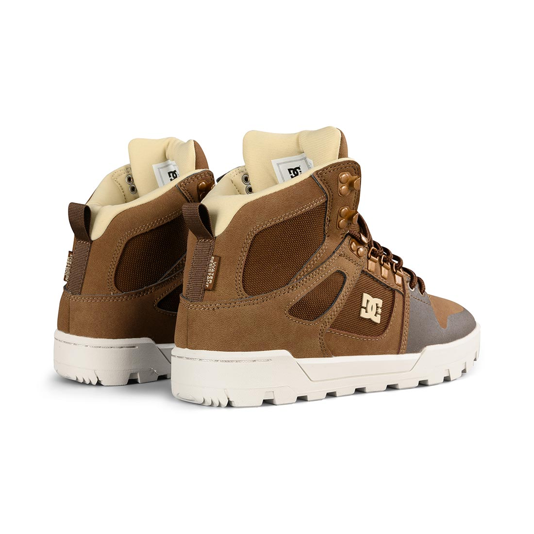 online retailer 6123b 28177 DC Shoes Pure High Top WR Boot - Brown | Supereight.net