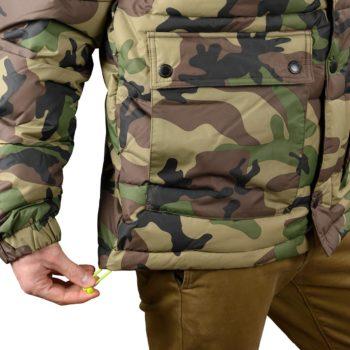DC Shoes Straffen Puffer Jacket – Camo