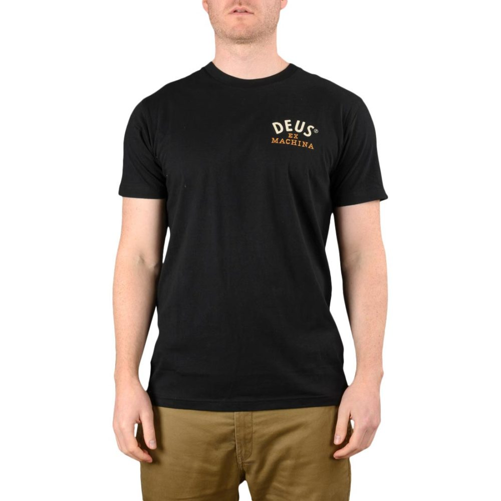 Deus Ex Machina Revival S/S T-Shirt - Black
