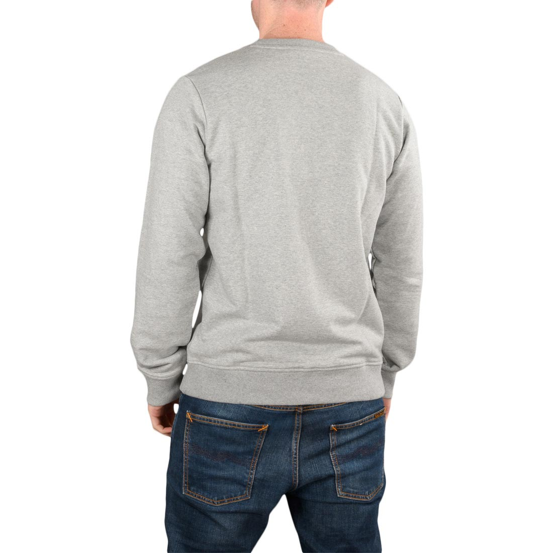 Dickies NEW Men/'s Campton Sweatshirt Grey Melange BNWT