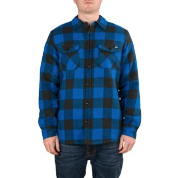 Dickies Lansdale Sherpa Lined L/S Shirt – Blue