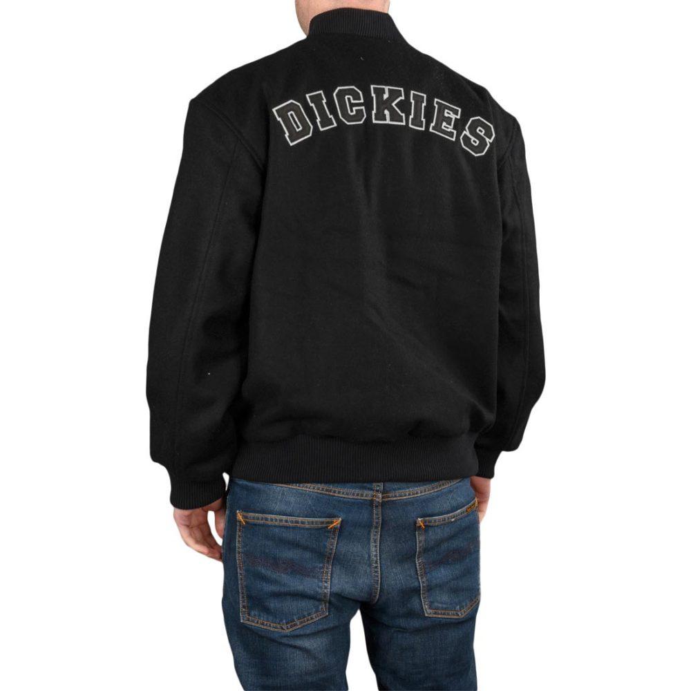 Dickies Nevisdale Varsity Jacket – Black