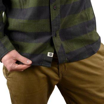 Element Tacoma 2Colours L/S Shirt – Olive Drab