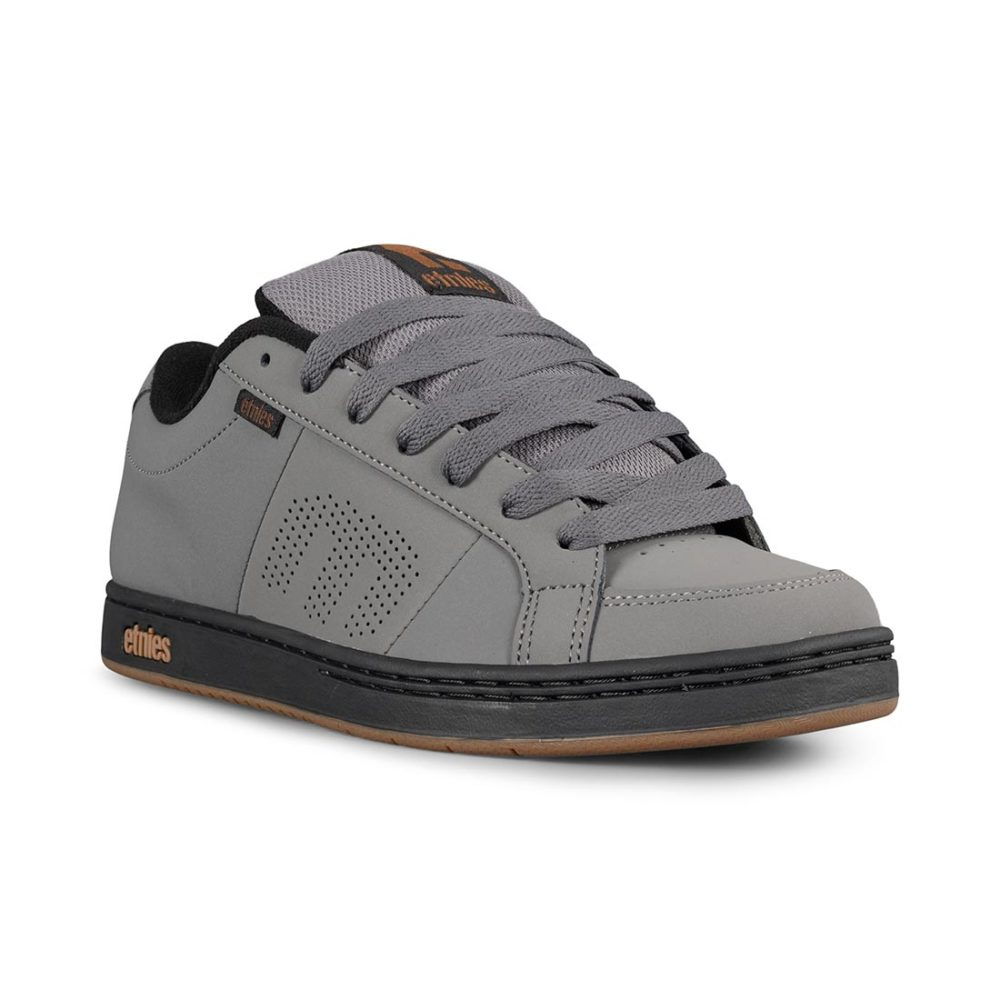 Etnies Kingpin Shoes – Grey / Black / Gold