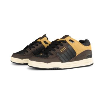 Globe Fusion Shoes – Black / Brown / Khaki