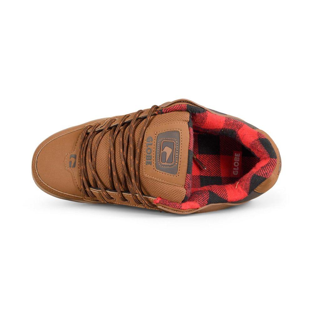 Globe Tilt Shoes – Brown / Plaid