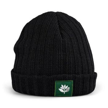 Magenta Beanie Hat – Black