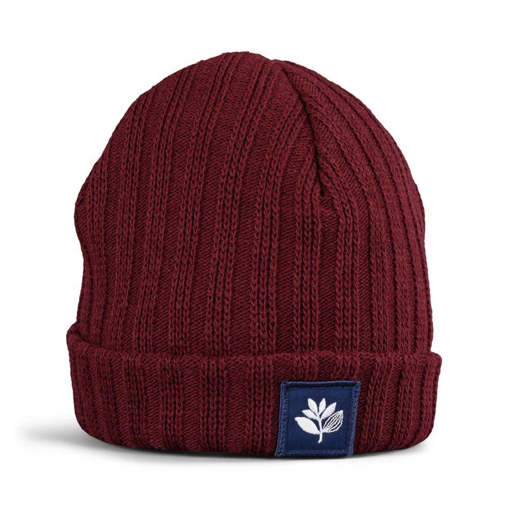 Magenta Beanie Hat - Burgundy