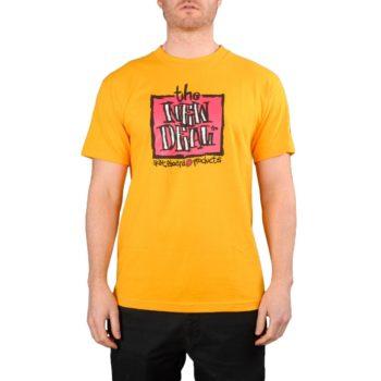 New Deal Original Napkin Logo S/S T-Shirt – Gold