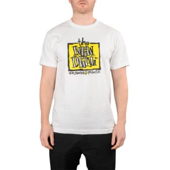 New Deal Original Napkin Logo S/S T-Shirt – White