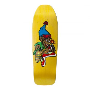 New Deal Sargent Monkey Bomber SP 9.625″ Reissue Deck – Yellow