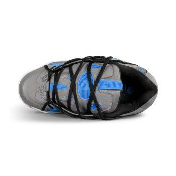 Osiris D3 2001 Shoes – Grey / Cyan