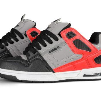 Osiris Peril Shoes – Grey / Red
