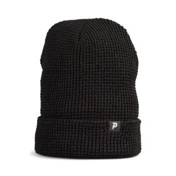 Primitive Dirty P Waffle Beanie Hat - Black