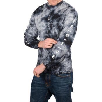 Primitive Moods Washed L/S T-Shirt – Black Wash