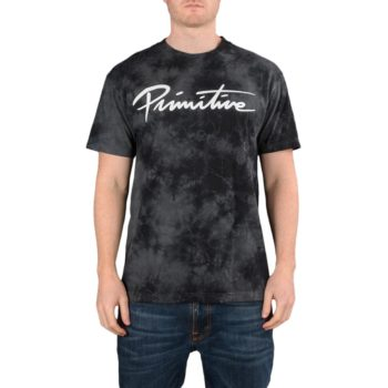 Primitive Nuevo Washed S/S T-Shirt – Black Wash