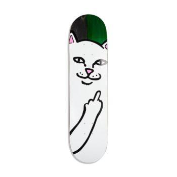 RIPNDIP Lord Nermal Skateboard Deck – Black / Green