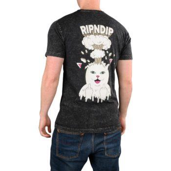 RIPNDIP Mind Blown S/S T-Shirt - Black Mineral Wash