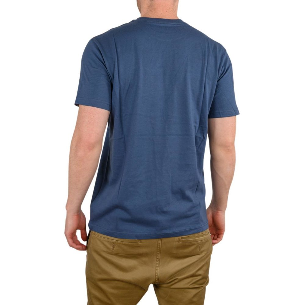 RVCA Fill All The Way S/S T-Shirt - Seattle Blue