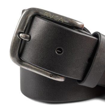 RVCA Truce Leather Belt - Black