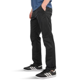 RVCA Weekend Stretch Straight Fit Pant Black