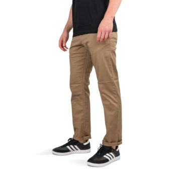 RVCA Weekend Stretch Straight Fit Pant - Dark Khaki