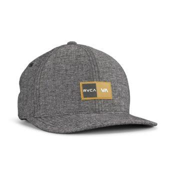 RVCA Balance Box Flexfit Hat – Charcoal
