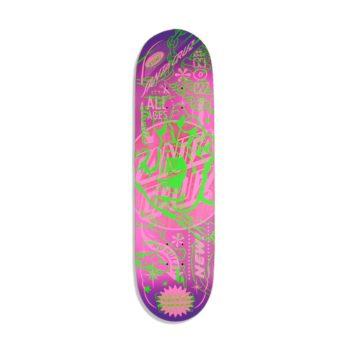 Santa Cruz Flash Hand VX 8.5″ Skateboard Deck – Multi