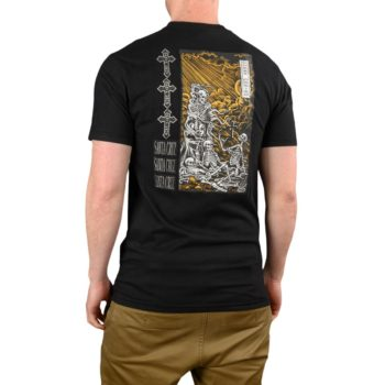 Santa Cruz O'Brien Purgatory S/S T-Shirt – Black