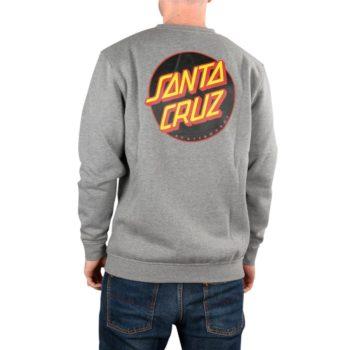 Santa Cruz Other Dot Crew Sweater – Dark Heather