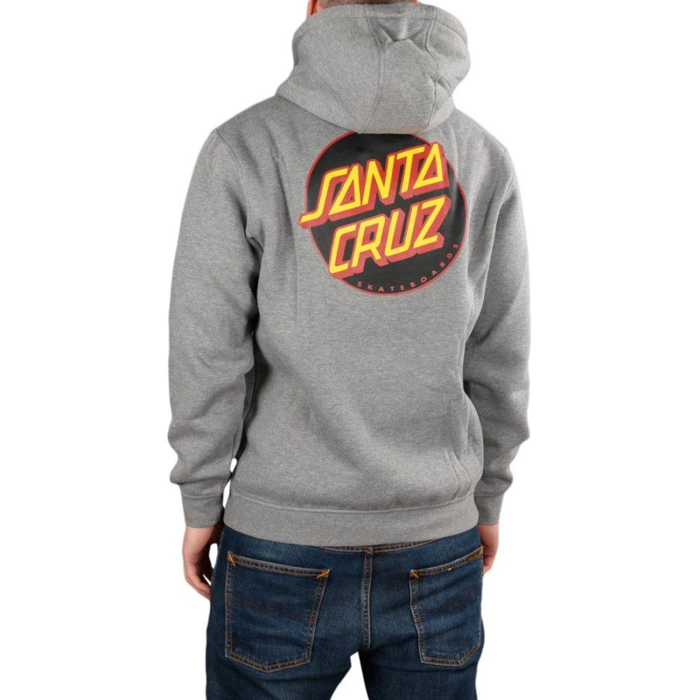 Santa Cruz Other Dot Pullover Hoodie – Dark Heather