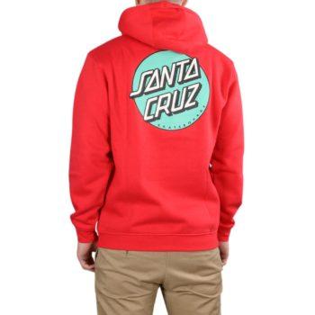 Santa Cruz Other Dot Pullover Hoodie – Deep Red