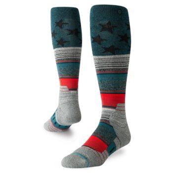 Stance Star Fade Snow Socks - Green
