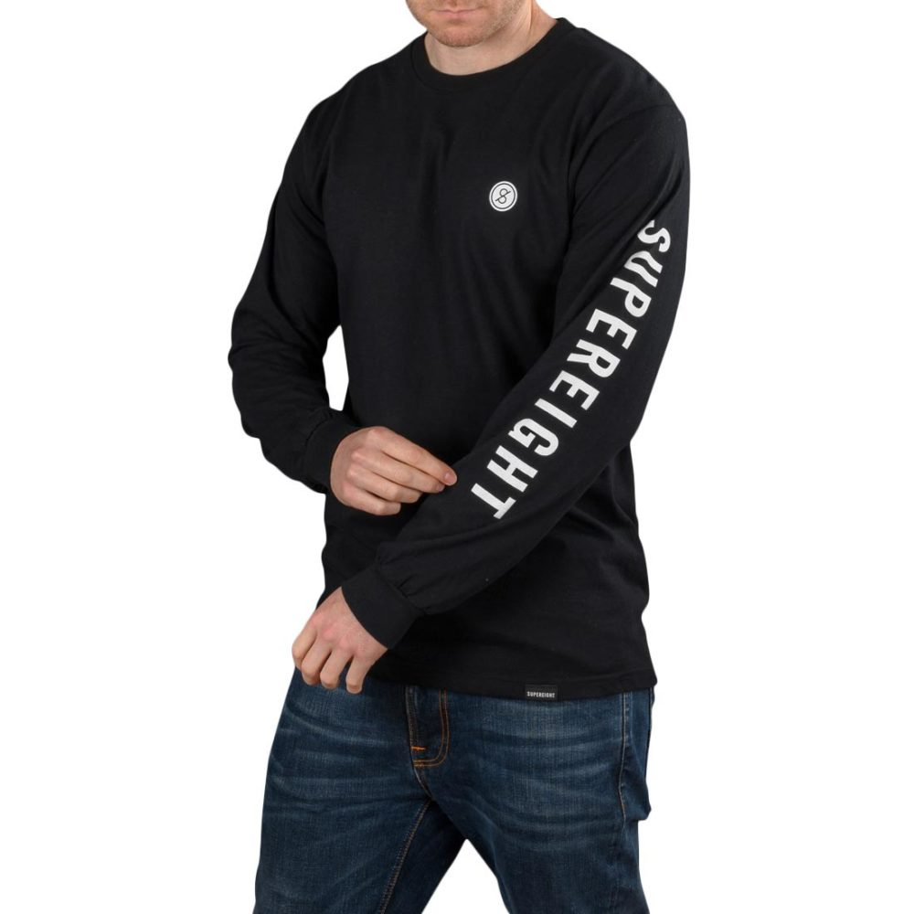Supereight Supply Co Icon L/S T-Shirt - Black