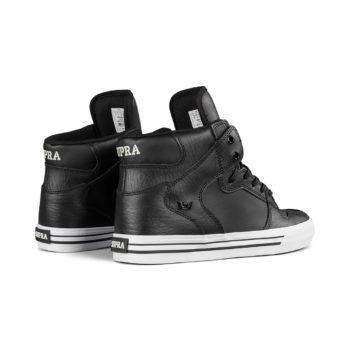 Supra Vaider High Top Shoes – Black / White
