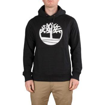 Timberland Tree Logo Pullover Hoodie - Black