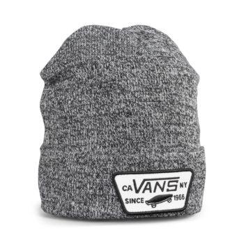 Vans Milford Cuff Beanie Hat – Black / White