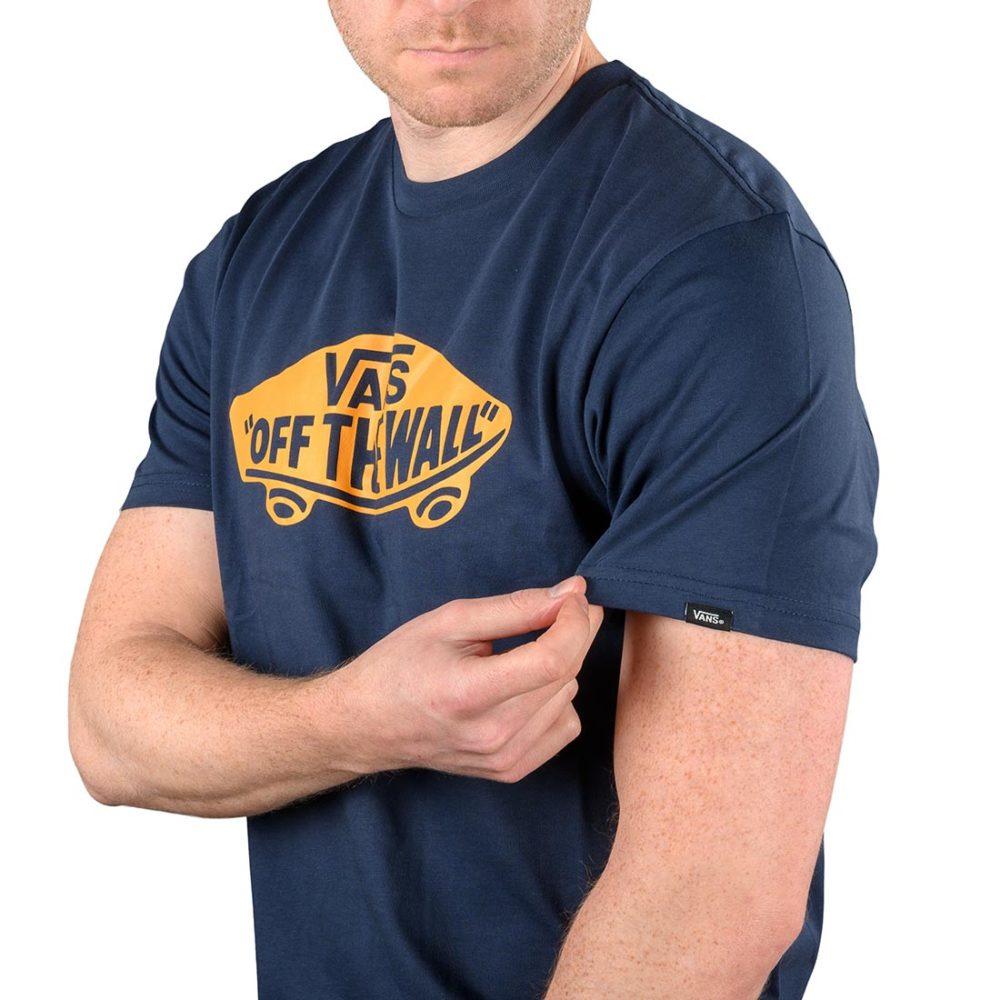 Vans OTW S/S T-Shirt – Dress Blue / Orange