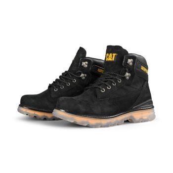 CAT Footwear Baseplate Boot – Black Nubuck