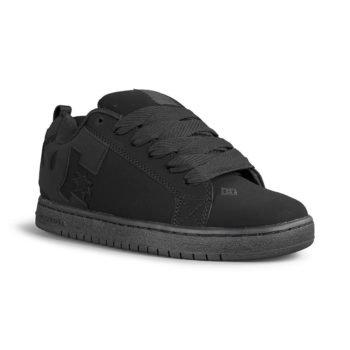 DC Shoes Court Graffik – Black / Black / Black