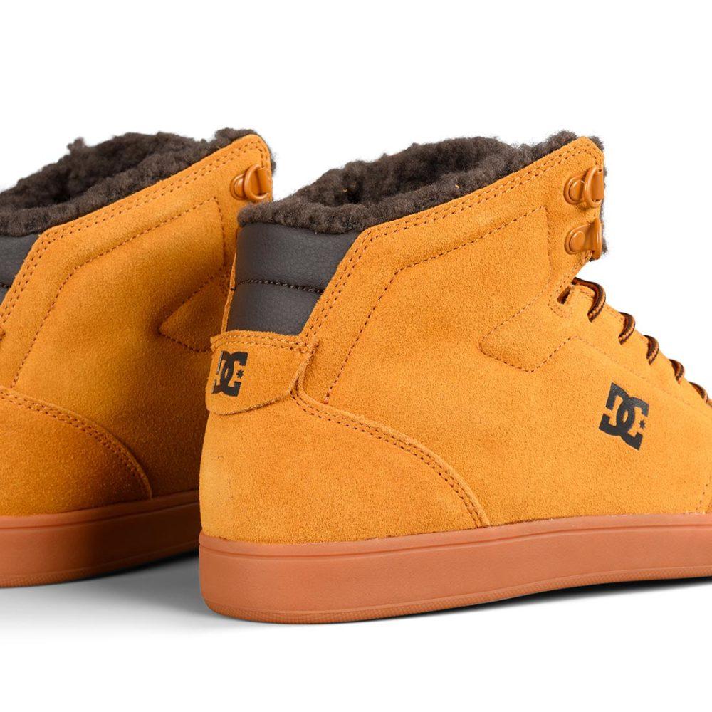DC Shoes Crisis High WNT – Tan / Brown