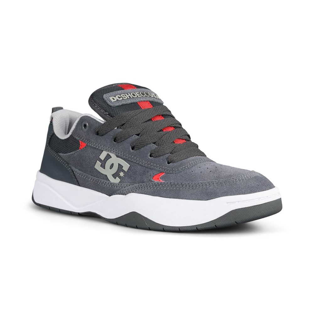 DC Shoes Penza -Grey / Grey / Red